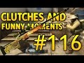 AWP Clutches and Funny Moments #116 CSGO
