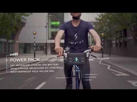 Convertidor de bicicletas a eléctricas
