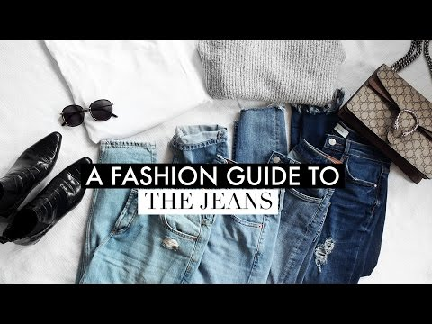 FASHION GUIDE TO JEANS | How To Style The Boyfriend, Skinny, Mom & Frayed Lookbook