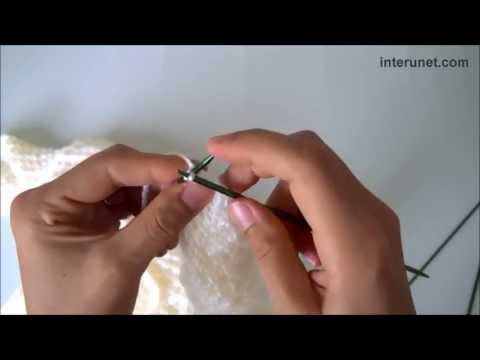 How to knit woman's sweater - video tutorial with detailed instructions.