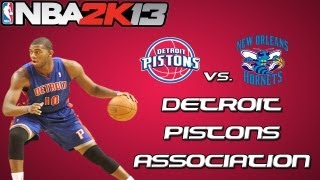 NBA 2K13 Association Mode: Detroit Pistons - The Brow Comes to Town [Y1G53 EP8]