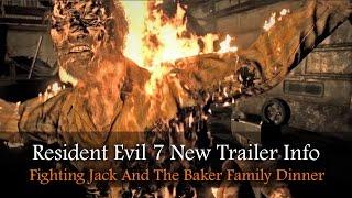 RESIDENT EVIL 7 NEW TRAILER REACTION | RE7 TAPE 2 | Jack Baker Fight | The Bakers Family