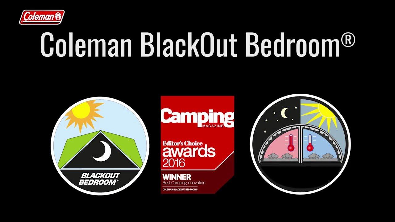 video Coleman MacKenzie 6 Family 'BlackOut' Tent