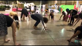 Jenna Balfe and Mr. Feathers | Body Movement Class | Art Live Fair 2012