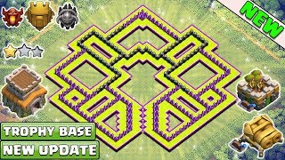NEW! Town Hall 8 Trophy Base for 2018 ♦ TH 8 Troll Trophy Pushing Base 2017/2018 - Clash of clans