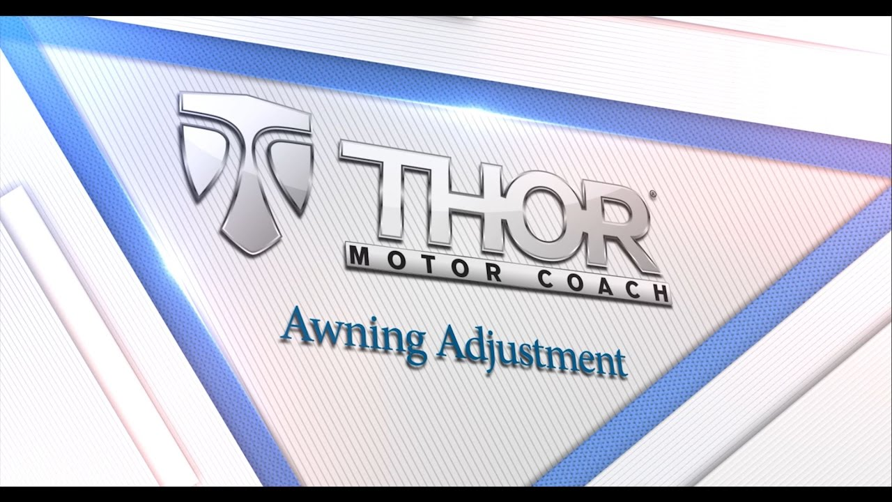 Rv Awning Adjustment Youtube