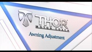 RV Awning Adjustment
