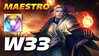 W33 Invoker Maestro | Dota 2 Pro Gameplay