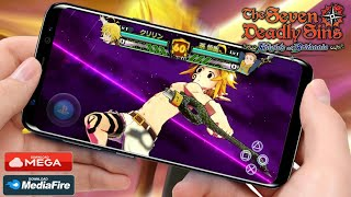 SAIU!! NOVO NANATSU NO TAIZAI KNIGHTS OF BRITANNIA PARA QUALQUER CELULAR ANDROID [MOD V1.0] DOWNLOAD