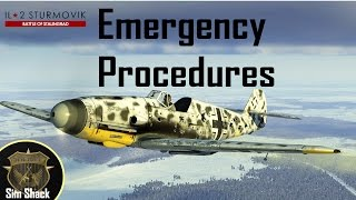 How to nurse a damaged Bf 109 back home - IL-2: Battle of Stalingrad