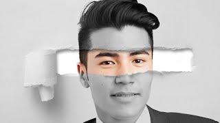 Torn Paper Portrait Effect | Photoshop Tutorials - Destiny of Tutorials