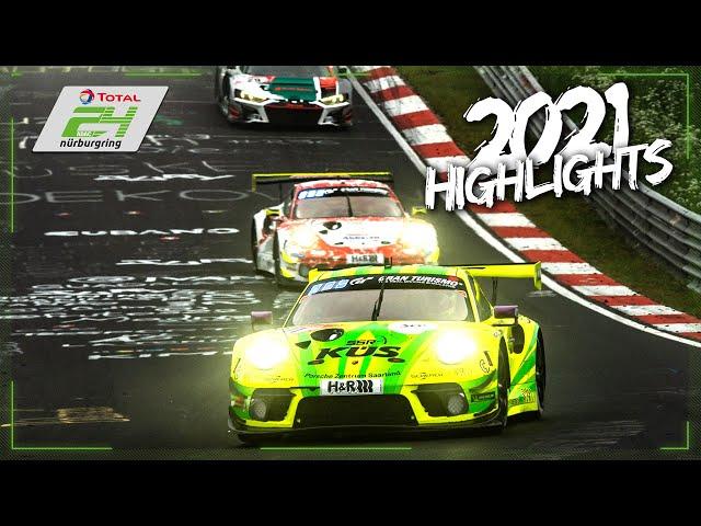 Full Race Highlights | ADAC TOTAL 24h-Race Nürburgring 2021