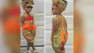 Nice Ankara Styles for little girls