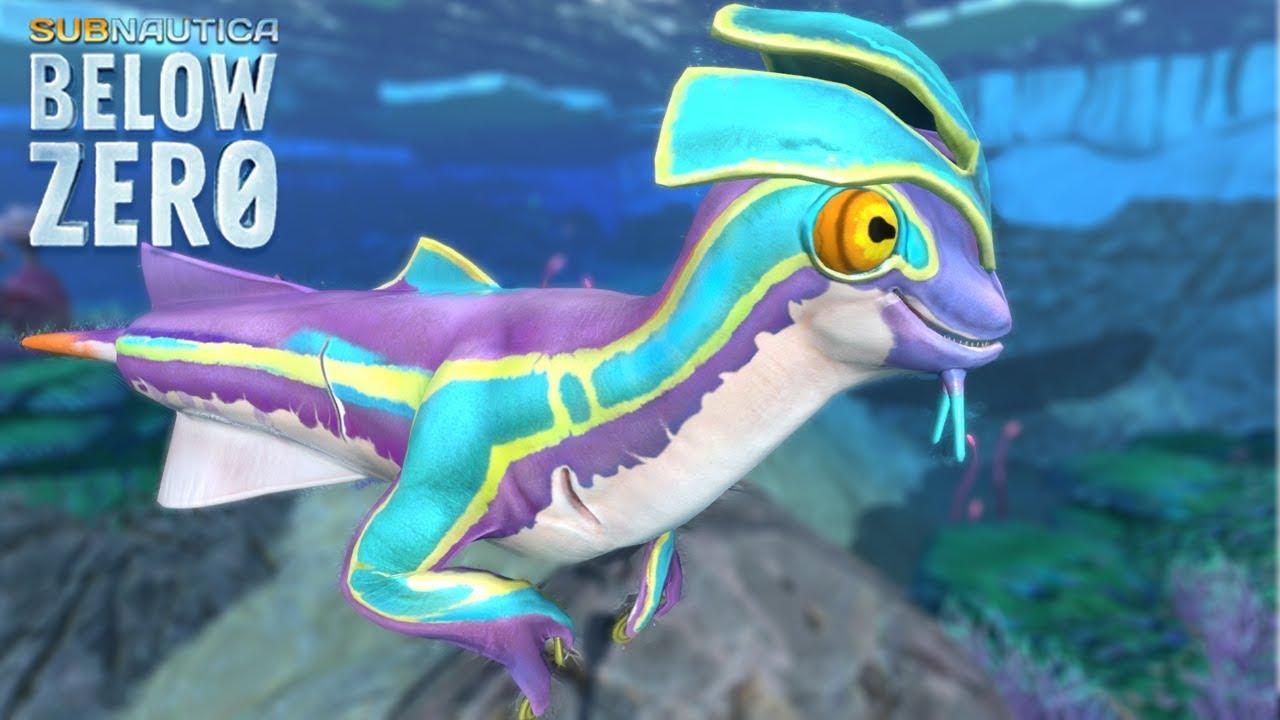 SEA MONKEY *NEW* Creature!    Subnautica Below Zero