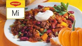Kürbis-Chili-Con-Carne - MAGGI Mittwoch Hangout