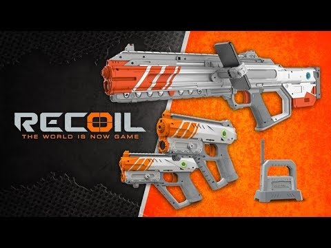 SKYROCKET TOYS' RECOIL A-R ENHANCED BLASTERS! | A Toy Insider Play by Play