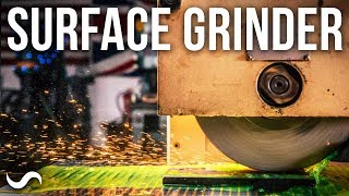 THE SURFACE GRINDER IS ALIVE!!!