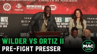 Deontay Wilder vs. Luis Ortiz II Press Conference