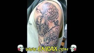 Skulls and Bone Tattoos Design