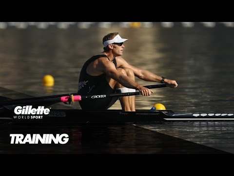 Training with Olympic Champion Mahé Drysdale | Gillette World Sport