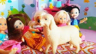 Rodzinka Barbie - PIESEK KAI W PRZEDSZKOLU JEJ! - bajki dla dzieci