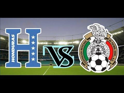 Honduras vs México , Hexagonal 2017 ¡En vivo Narrracion