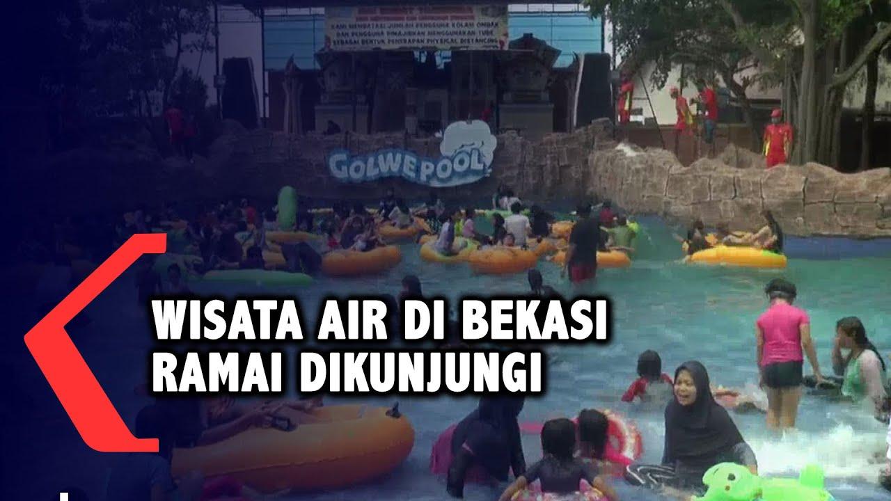 Libur Nataru, Wisata Air di Bekasi Ramai Dikunjungi
