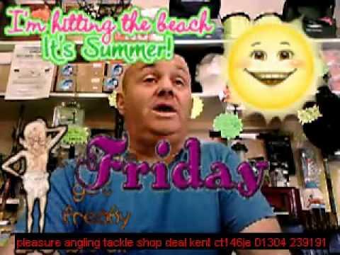 tackle shop deal kent pleasure angling 6th june