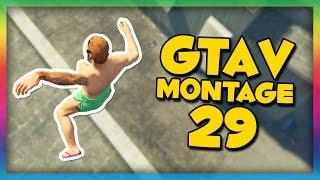 CATAPULT-GLITCH! - GTA V Montage #29 (Svenska)