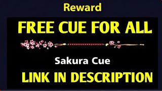 Free Cue For All.. Link in Description || 8 Ball Pool Free Cue || 2018!!
