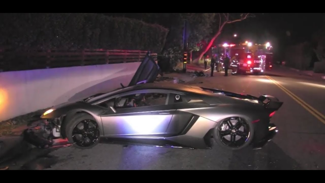 Lamborghini Driver Killed In Crash Was Medical Marijuana