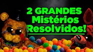 FNAF: GRANDES Mistérios Resolvidos! (Five Nights at Freddy's Fazbear Frights)