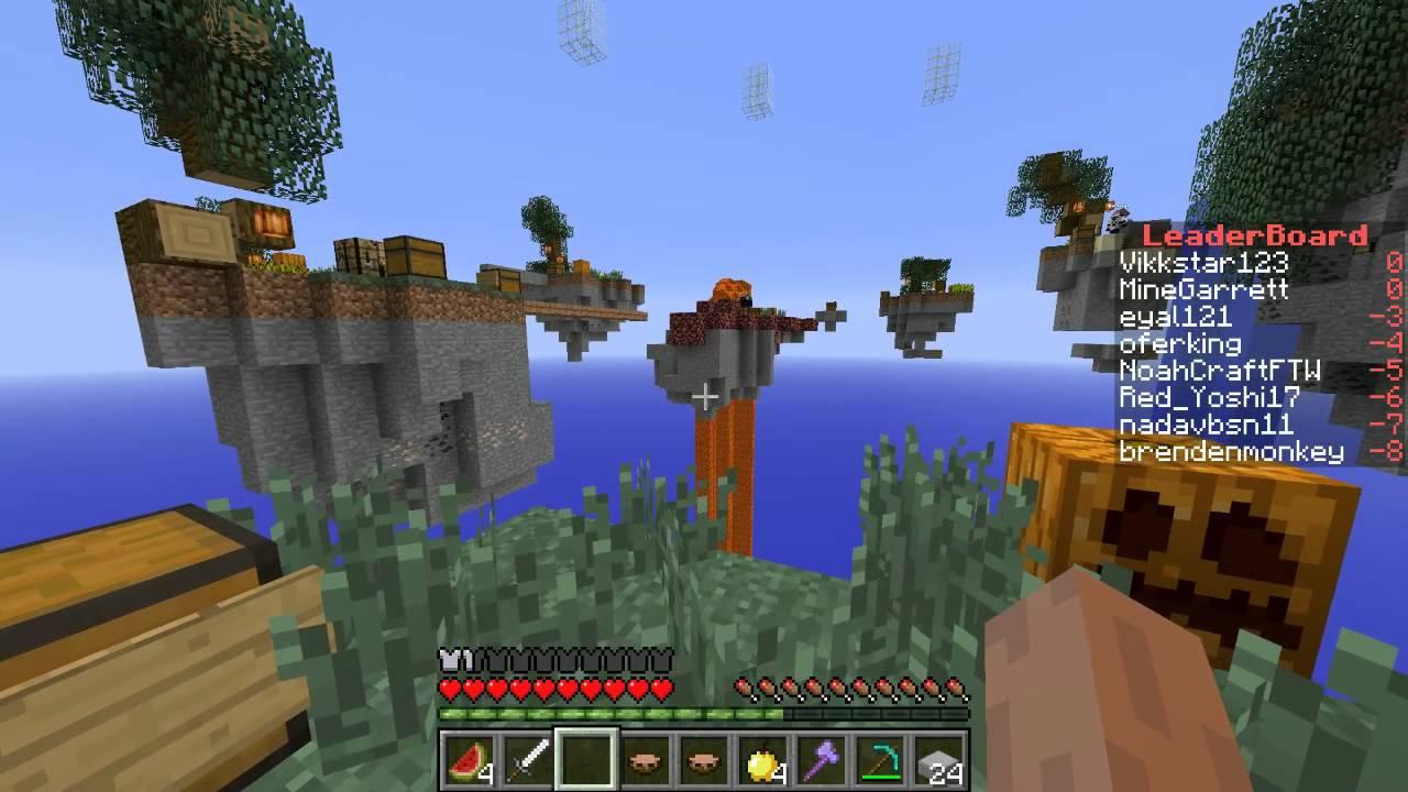 Minecraft Sky Wars #1 with Vikkstar123, Gizzy14Gazza ...