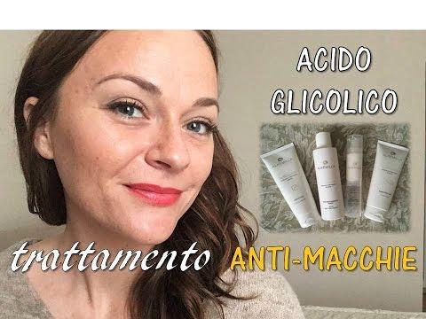 TRATTAMENTO ANTI-MACCHIE con l'acido glicolico di Alkemilla | I miei risultati