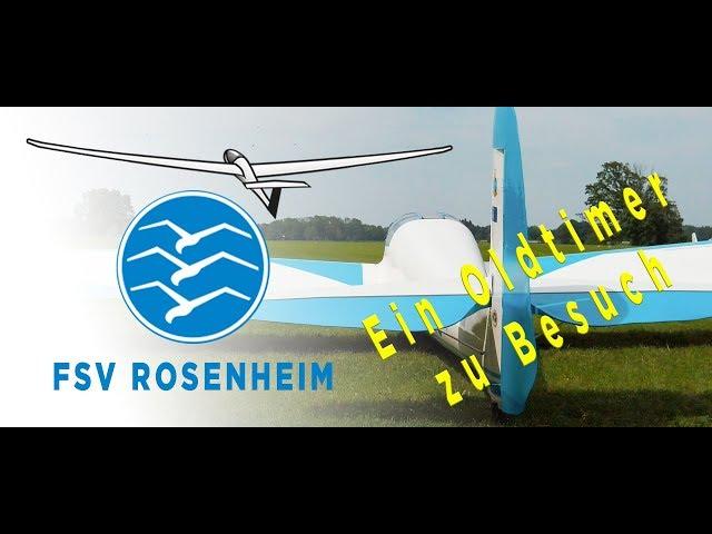 Flugsportverein Rosenheim Segelfliegen aus Leidenschaft - Die Gövier III und die weiße Orchidee