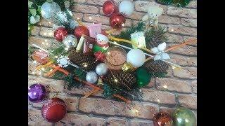 DIY украшение стола на Новый год и Рождество