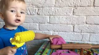 Как сделать play doh в домашних условиях
