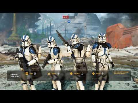 501st Legion Defends Kashyyyk - Star Wars Battlefront 2