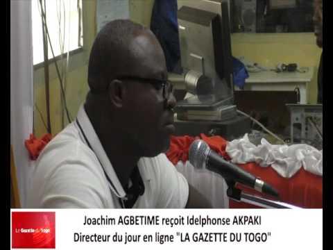 Joachim AGBETIME reçoit Idelphonse AKPAKI comme invité sur radio Victoire Fm