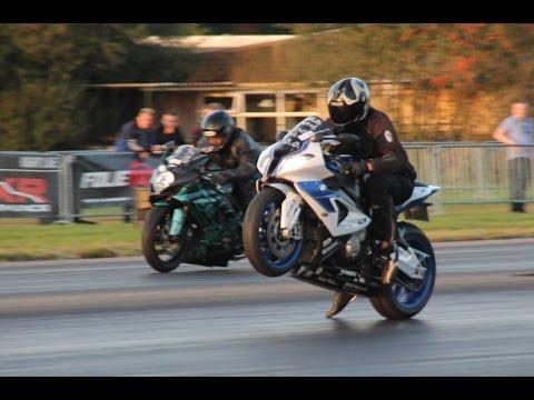 Ongekend DHRA Dragracing Drachten motorbike racing - YouTube AP-38