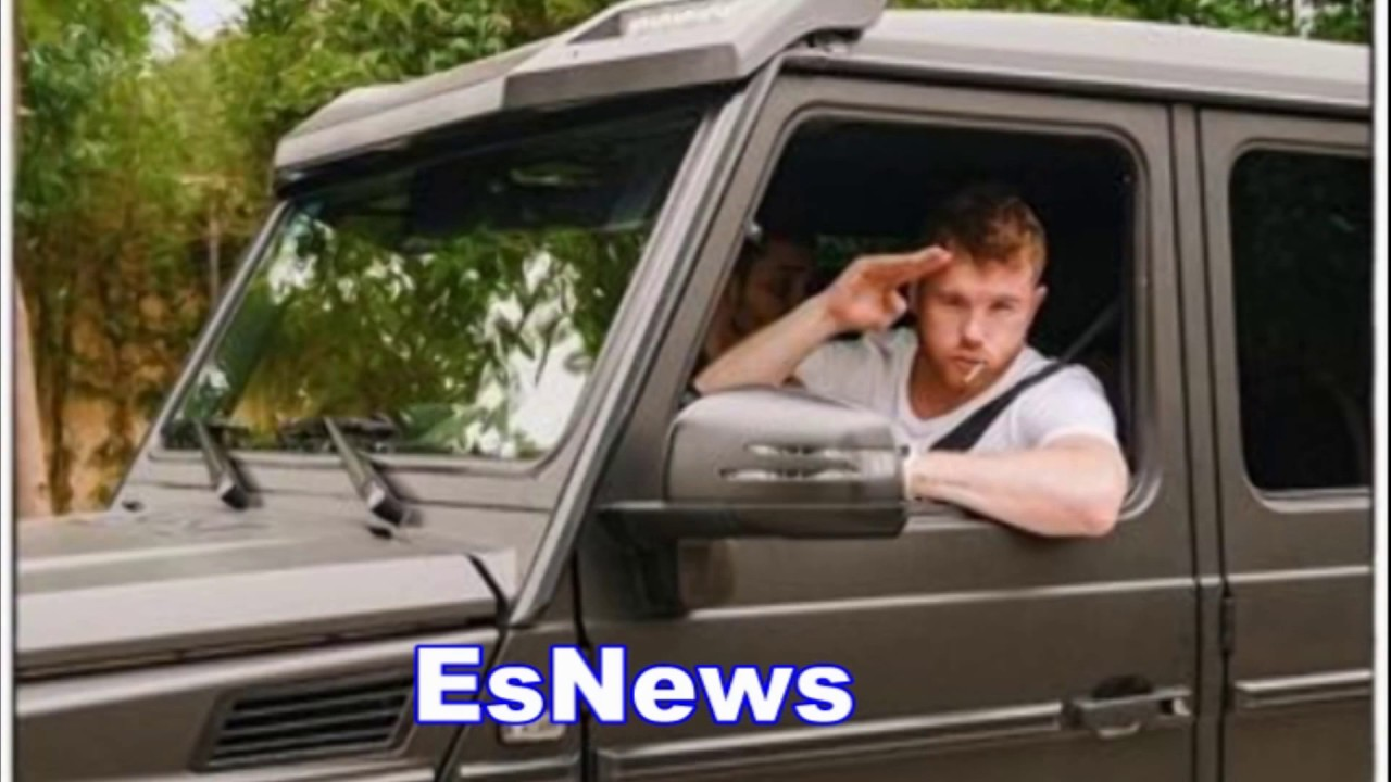 CANELO Chilling In His $1.3 Million Mercedes-Benz BRABUS G63 6x6 - EsNews Boxing