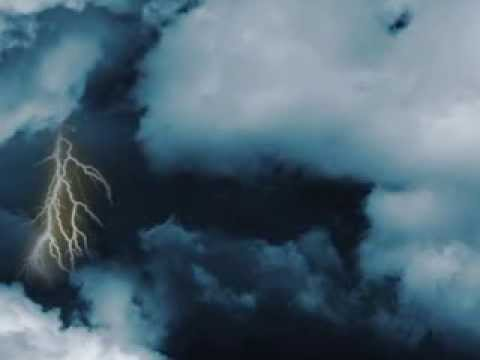 Second Try Using AfterEffect CC - Cloud With Thunder