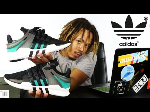 """ADIDAS EQT ADV 91-16 """"SUB GREEN"""" REVIEW AND ON FOOT"""