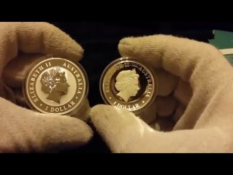 Proof coins v bullion coins