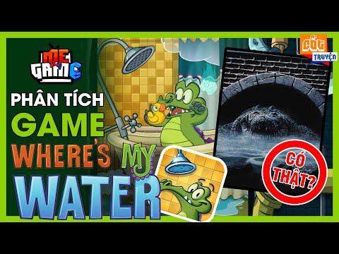 Phân Tích Game: Where's My Water? - Bí Ẩn Cá Sấu Dưới Cống Ngầm | meGAME