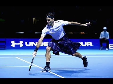 Roger Federer vs Andy Murray - Exhibition Highlights Scotland