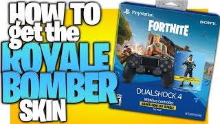 "How To Get The ""Royale Bomber"" Skin! (Fortnite Bonus Content Bundle - 500 VBUCKS + Royale Bomber)"