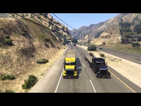 GTA 5 convoy music video*