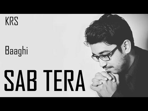 Sab Tera Karaoke Full Instrumental | Armaan Malik Amaal Mallik | BAAGHI | KRS