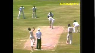 Chetan Chauhan blazing away vs the Aussies 1983